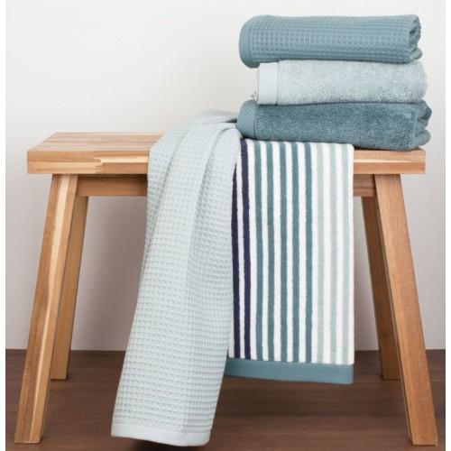 deze prachtige 5-delige handdoekenset