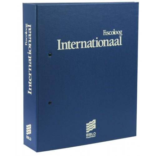 een verzamelmap Fiscoloog Internationaal
