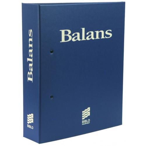 een verzamelmap Balans