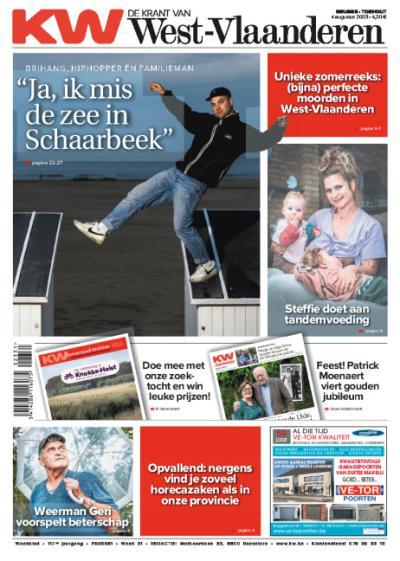 De Krant van West-Vlaanderen - Digitaal: 1 jaar + welkomstgeschenk