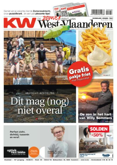 Krant van West-Vlaanderen - Abonnement voor 1 jaar