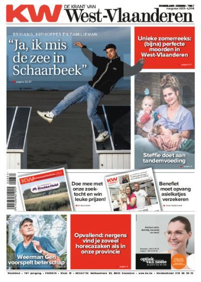 De Krant van West-Vlaanderen - Compleet: 1 jaar + welkomstgeschenk