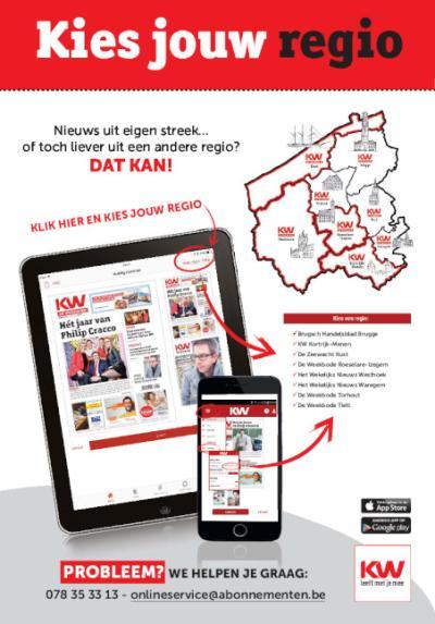 Krant van West-Vlaanderen Digitaal