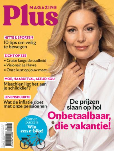 Plus Magazine - Jaarabonnement via domiciliëring + geschenk