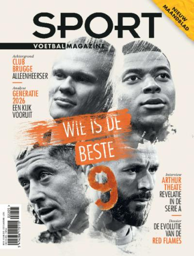 Sport/Voetbalmagazine - Digitaal abonnement via domiciliëring