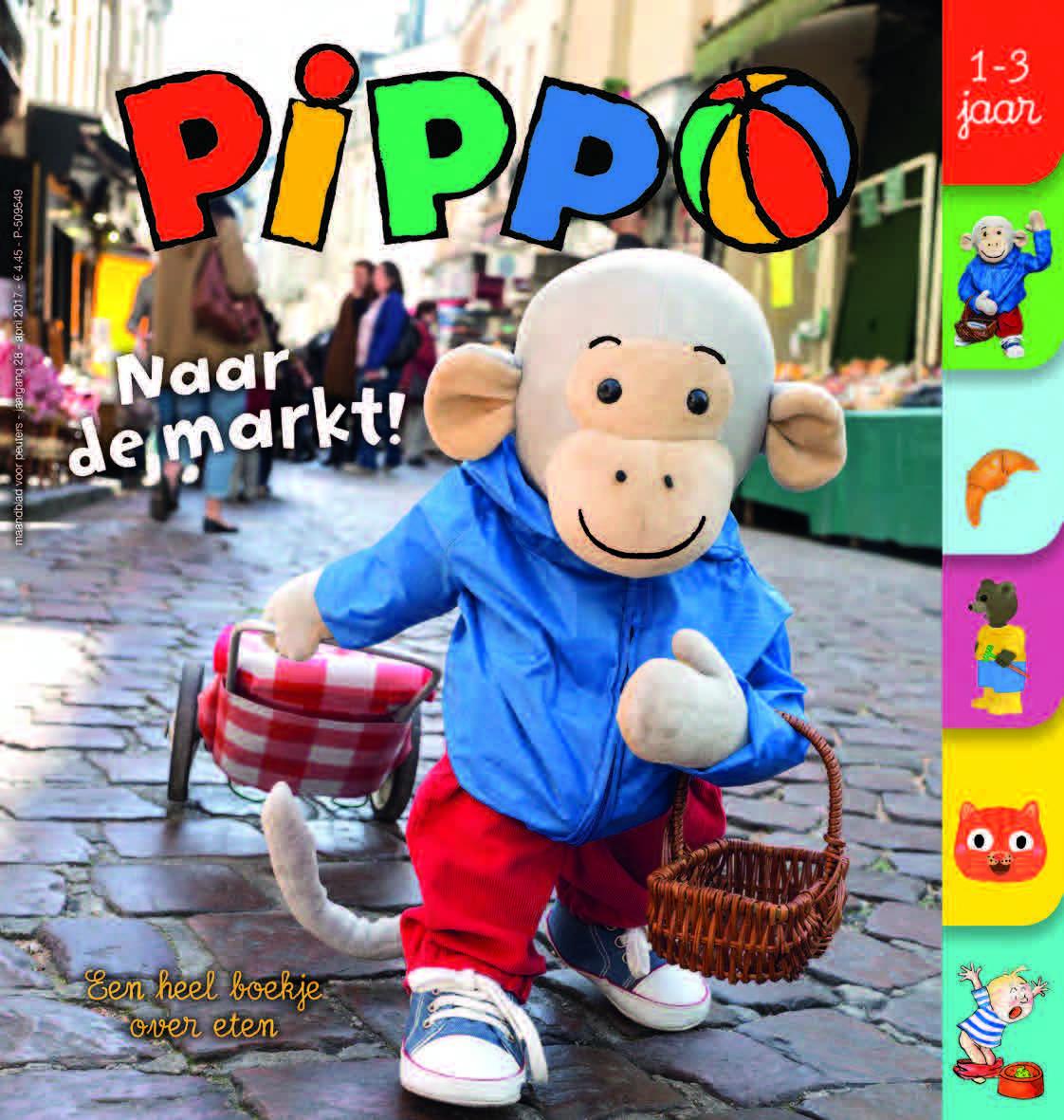 Pippo - Jaarabonnement via domiciliëring + geschenk